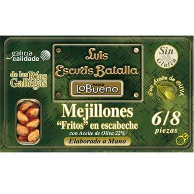 Mejillones Fritos en Escabeche Lo Bueno