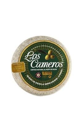 """Queso Mezcla Semi Cameros """"Etiqueta Verde"""" (200 - 250 gr)"""