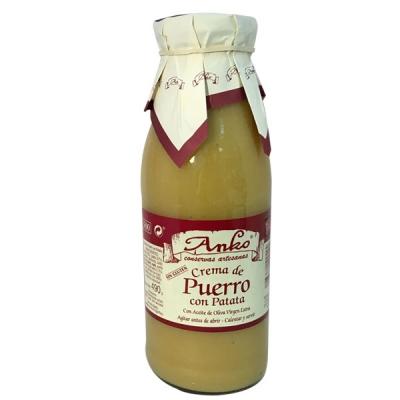 Crema de puerro Anko