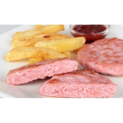 Hamburger di pollo-veggie burger di carne