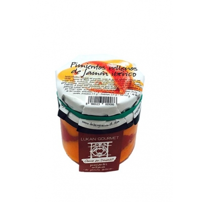 Peperoni ripieni con prosciutto iberico 300gr