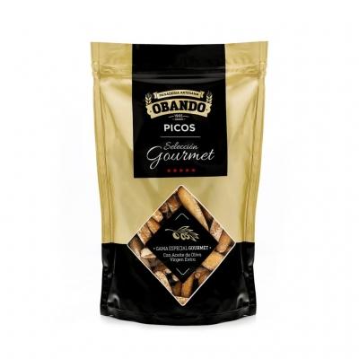 Picos Rusticos Gourmet Obando envase doypack 140gr