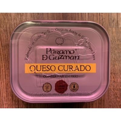 Queso curado en aceite - Paramo de Guzman lata 250g