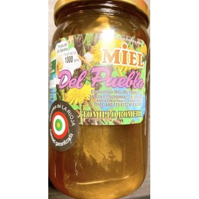 Miel de tomillo y romero
