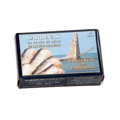 Sardine in Olio di Oliva Cambados