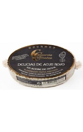 Delicias de Atún Rojo en Aceite de Oliva Cambados 111g