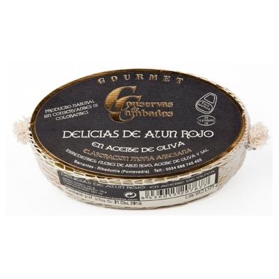 Delicias de Atún Rojo en Aceite de Oliva Cambados
